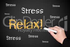 Stress Relax - Business Concept