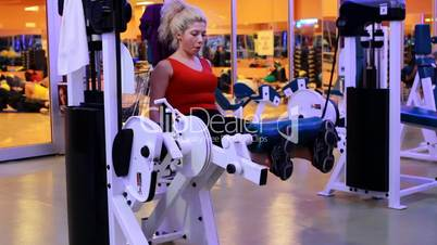 girl doing sports in a gym 6