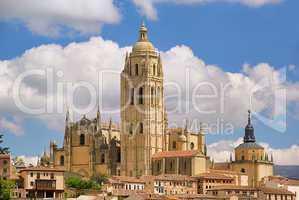 Segovia Katedrale - Segovia cathedral 03
