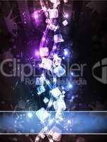 Neon Cubic Horizon