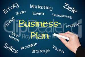 Businessplan - Konzept Tafel