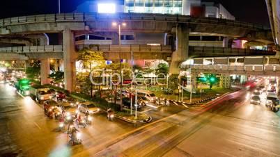 Bangkok traffic 2 time lapse