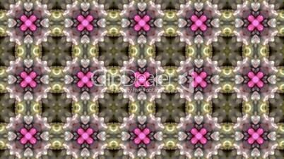 Gorgeous oriental flower lotus fancy gem background.Buddhism Mandala flower,kaleidoscope,oriental religion texture.