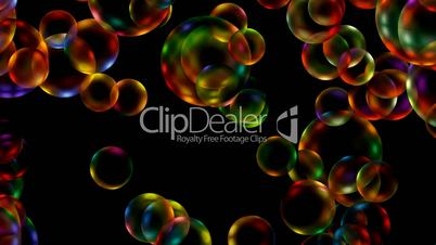 Animation of color disco balls or bubble.Drop,water,mercury,mirror,lens,crystal,jewelry,transparent,Rain,liquid,paint,dye,spray,fountain,