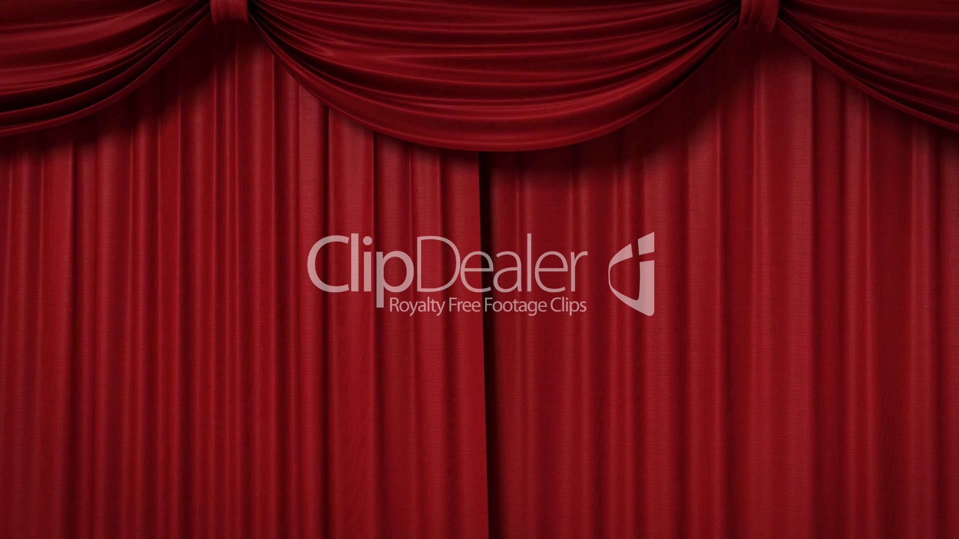 opening red curtain with spotlights royaltyfree video