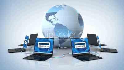 Global downloading