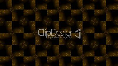 brown flower mosaics array,fancy pattern and light,disco ligth texture.symbol,vision,idea,creativity,vj,beautiful,art,decorative,technology,science fiction,future