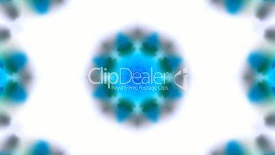 blue rotation flower lotus pattern,kaleidoscope,watercolor style fancy.Buddhism Mandala flower,kaleidoscope,oriental religion texture.