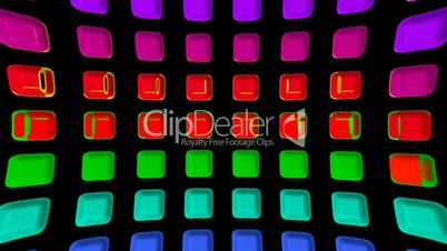 color rectangle matrix disco background.plastic,circle,computer,creativity,engineering,light,machine,pattern,pipe,technology,