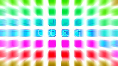 color rectangle matrix disco background.machine,pattern,technology,media,pulse,3d,luster,disco,electronic,element,