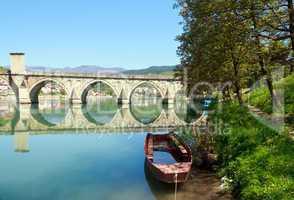 Alte Brücke in Visegrad,Bosnien - Herzegowina