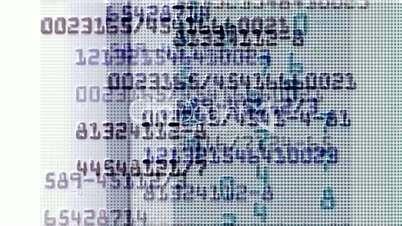 rolling number in computer screen,business,finance.chip,CPU,intelligent,NASDAQ,mathematics,equation,telephone number,number,number,secret,memories,memory,detective,scanning,particle,Design,pattern,symbol,dream,vision,idea,creativity,vj,beautiful,art,decor