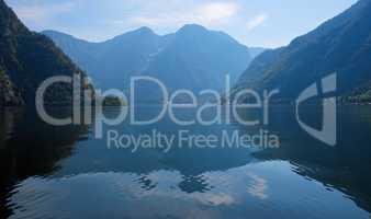 Alpine Hallstatter Lake