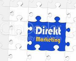 Direkt Marketing - Business Konzept