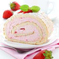 Biskuitrolle / swiss roll
