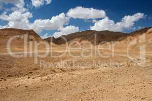 Scenic desert landscape