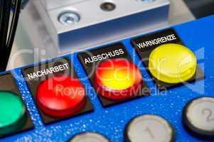 Qualitätsüberwachung Quality control