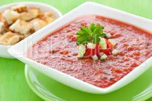 frische Gazpacho / fresh gazpacho