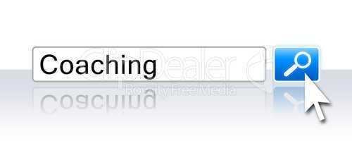 Internet Suche Blau - Coaching