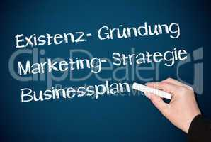 Existenzgründung Marketing Business