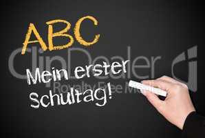 ABC - mein erster Schultag !