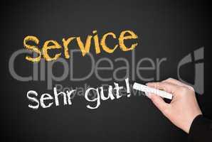 Service - Sehr gut !