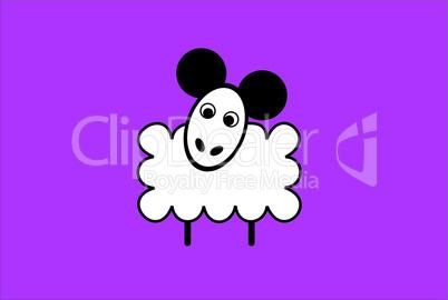 cartoon sheep.eps