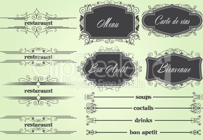 Bon Apetit Restaurant Menu