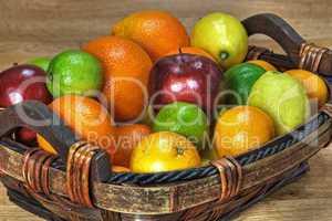 Vitamin C im Korb