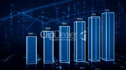 growth_chart_3d_blue