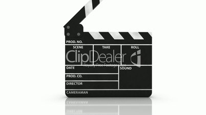 Clapperboard with Alpha Channel