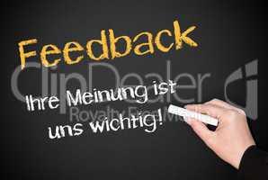 Feedback - Ihre Meinung ist uns wichtig !