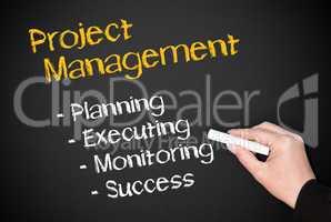 Project Management - Business Concept