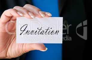 Invitation - Einladung