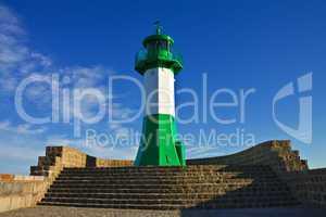 Der Saßnitzer Leuchtturm