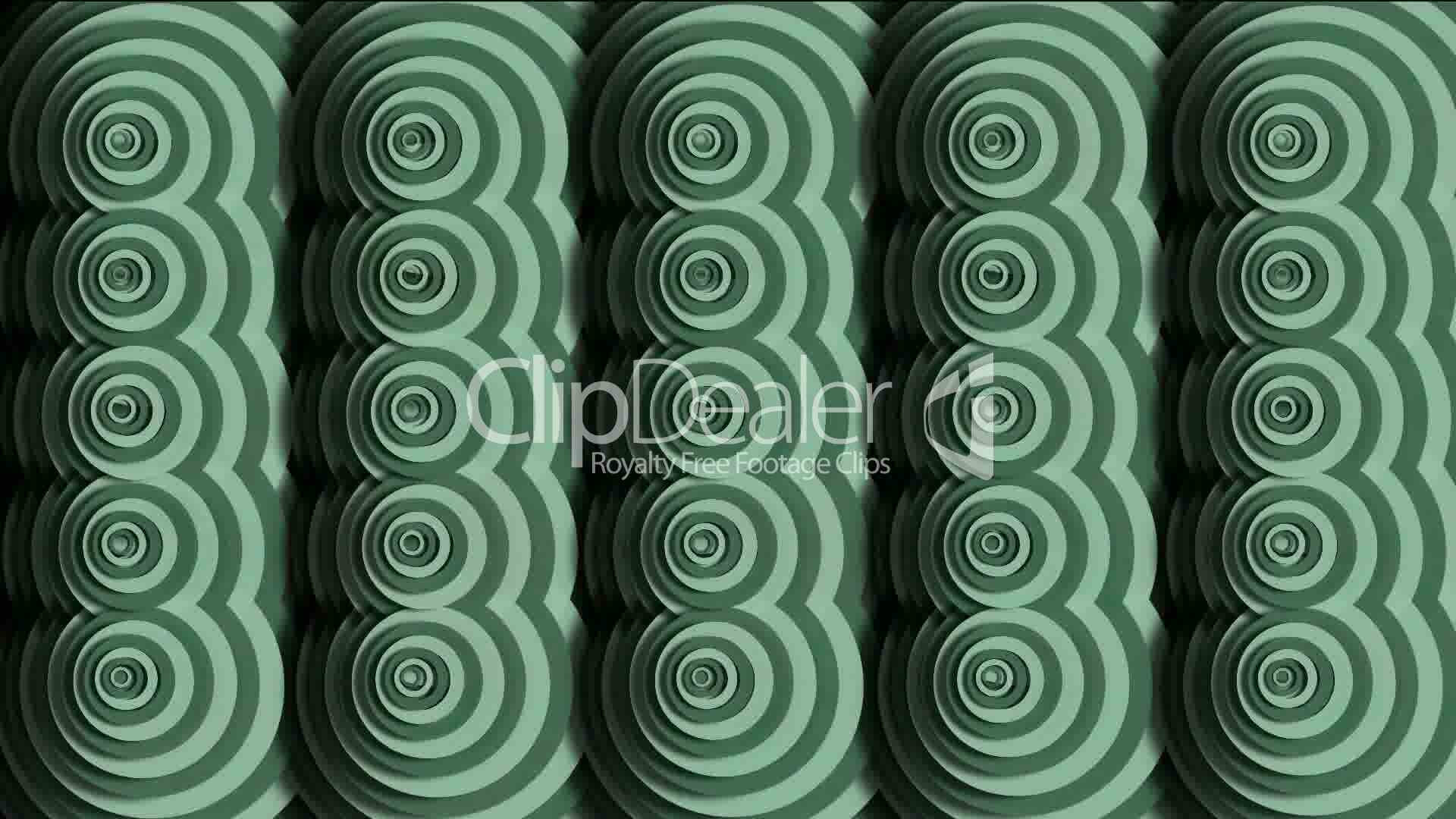 Moving circle pattern cloud ripple eastern classical