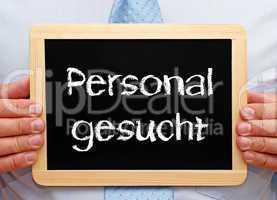 Personal gesucht