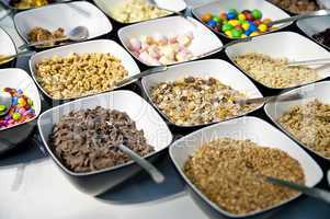 Variation of Sweets and Cereals