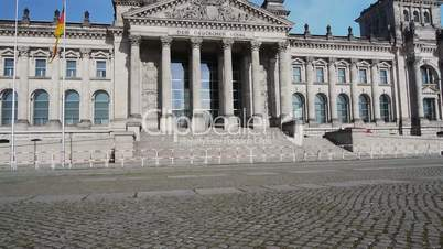 Berlin - Reichstag with Exclusion Zone - Vertical Tracking