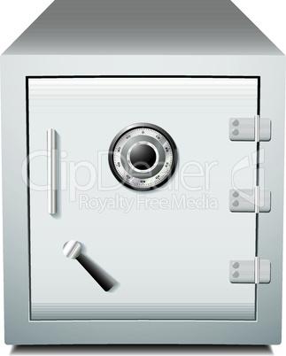 Secure metal safe.eps