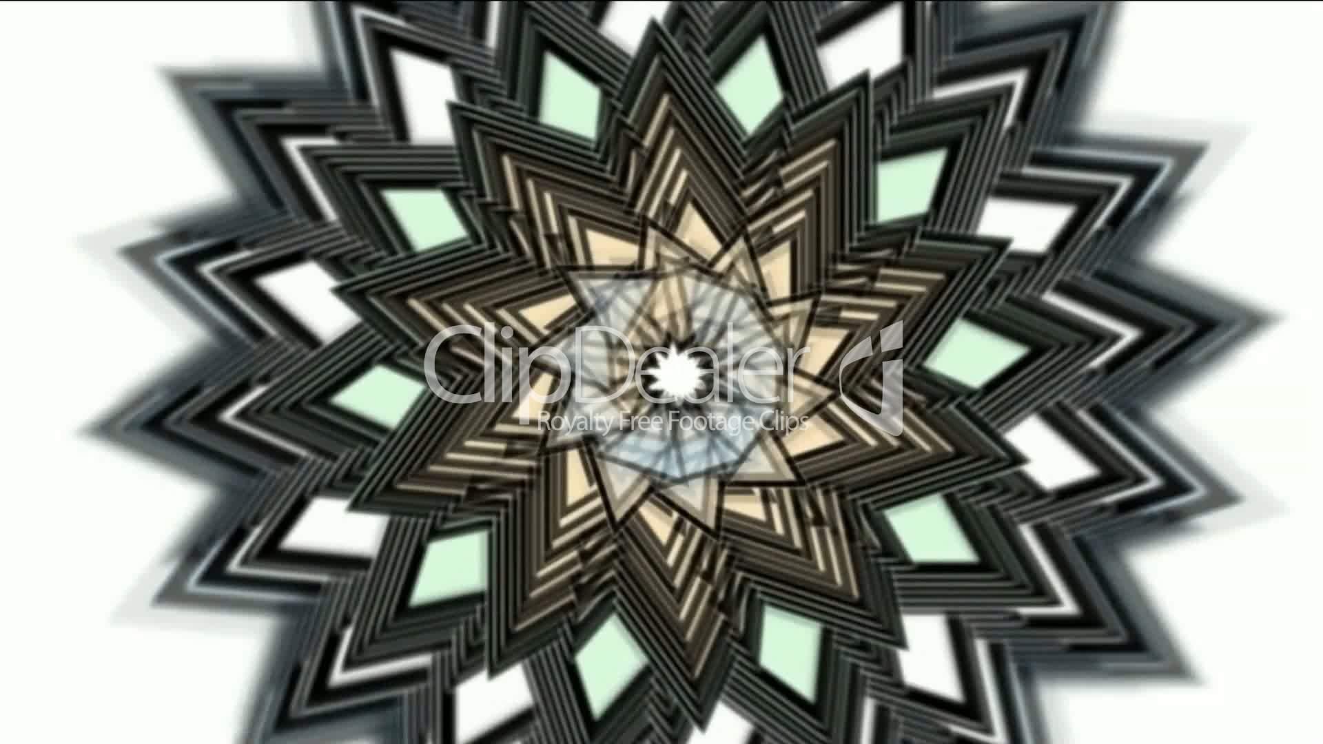 Buddhism Lotus Mandala Royalty Free Videos