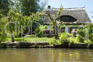 Wohnhaus im Spreewald