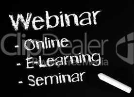 Webinar - Online E-Learning Seminar