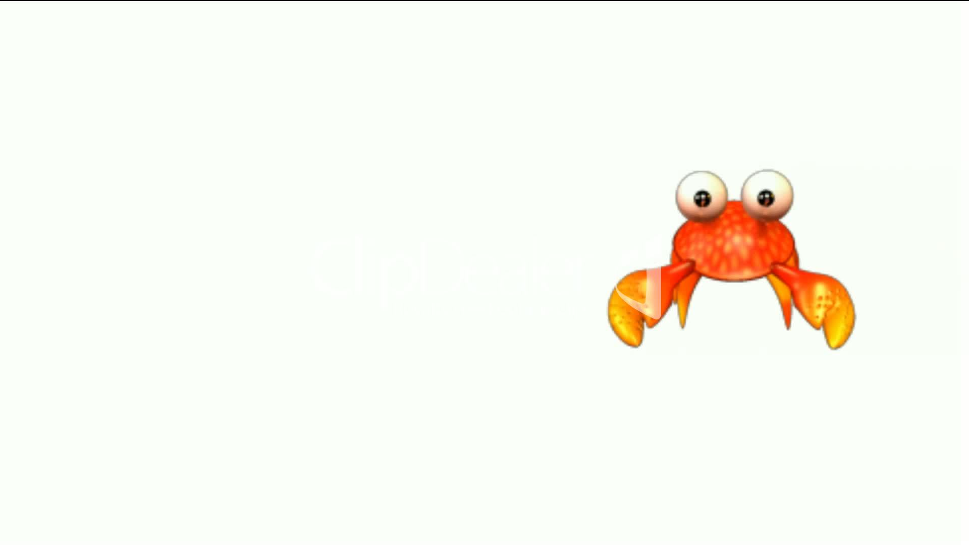 cartoon crabs crawl royalty free video and stock footage