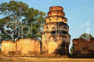 Ruins at Angkor, Cambodia