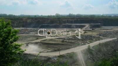 Open pit time lapse