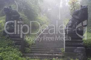 Ancient entrance