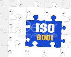 ISO 9001 - Zertifikat