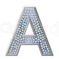 Diamant Buchstabe A