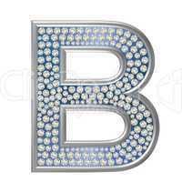 Diamant Buchstabe B